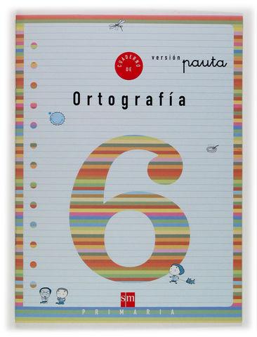 2EP.CUAD.ORTOGRAFIA 6 V.PAUTA 04