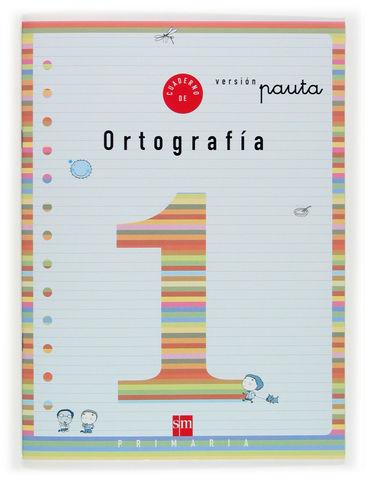1EP.CUAD.ORTOGRAFIA 1 V.PAUTA 04