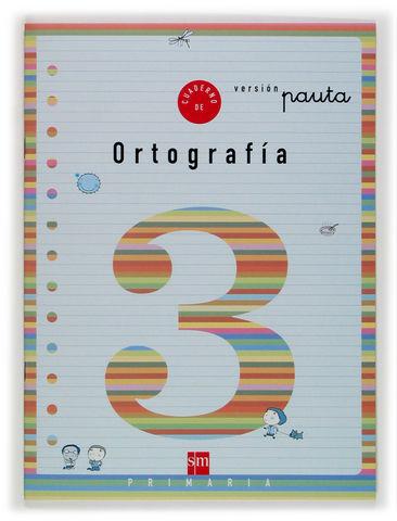 1EP.CUAD.ORTOGRAFIA 3 V.PAUTA 04