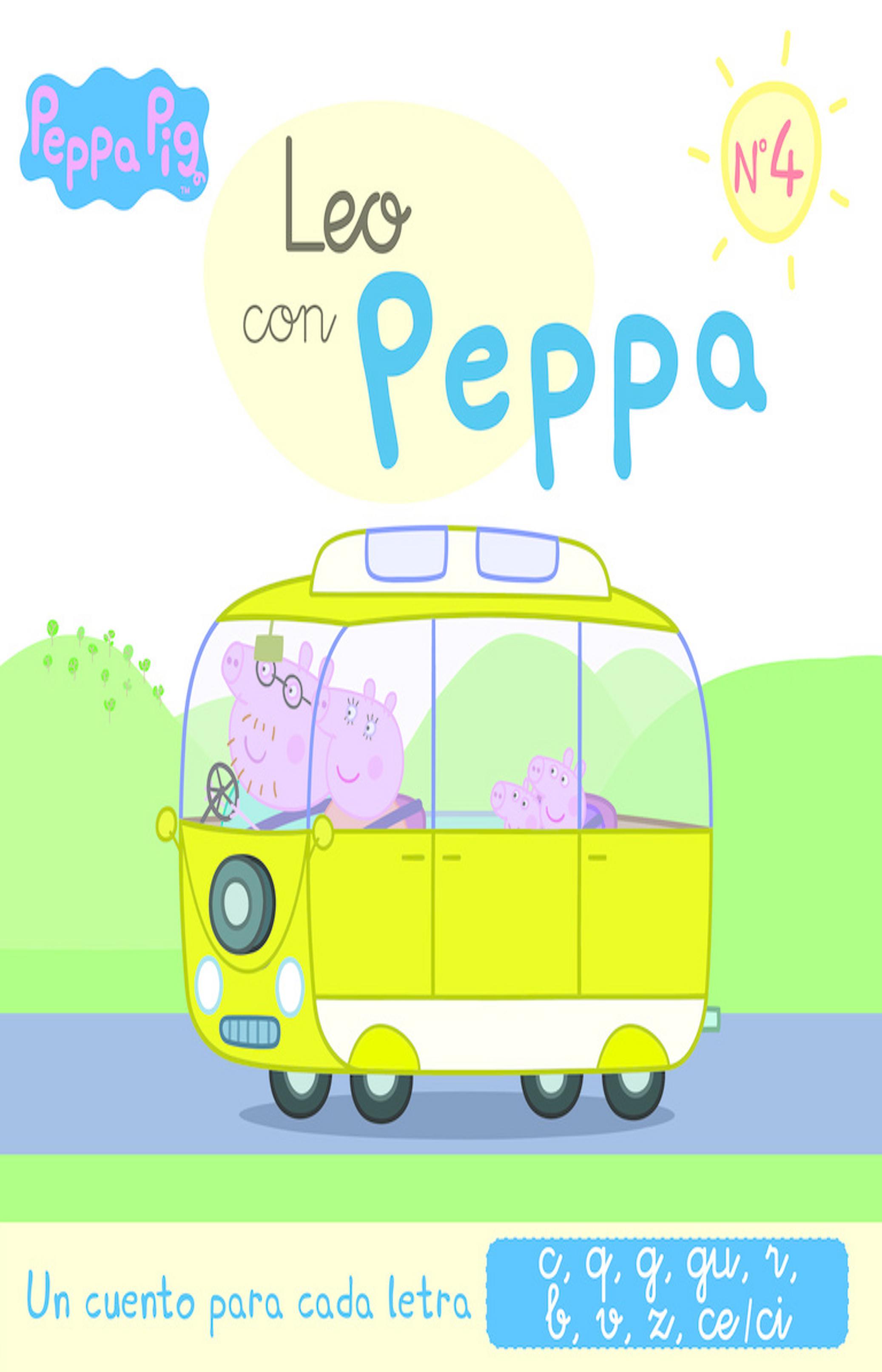 LEO CON PEPA Nº4 (C,Q,G,GU,R,B,V,Z,CE/CI) - Pepa Pig