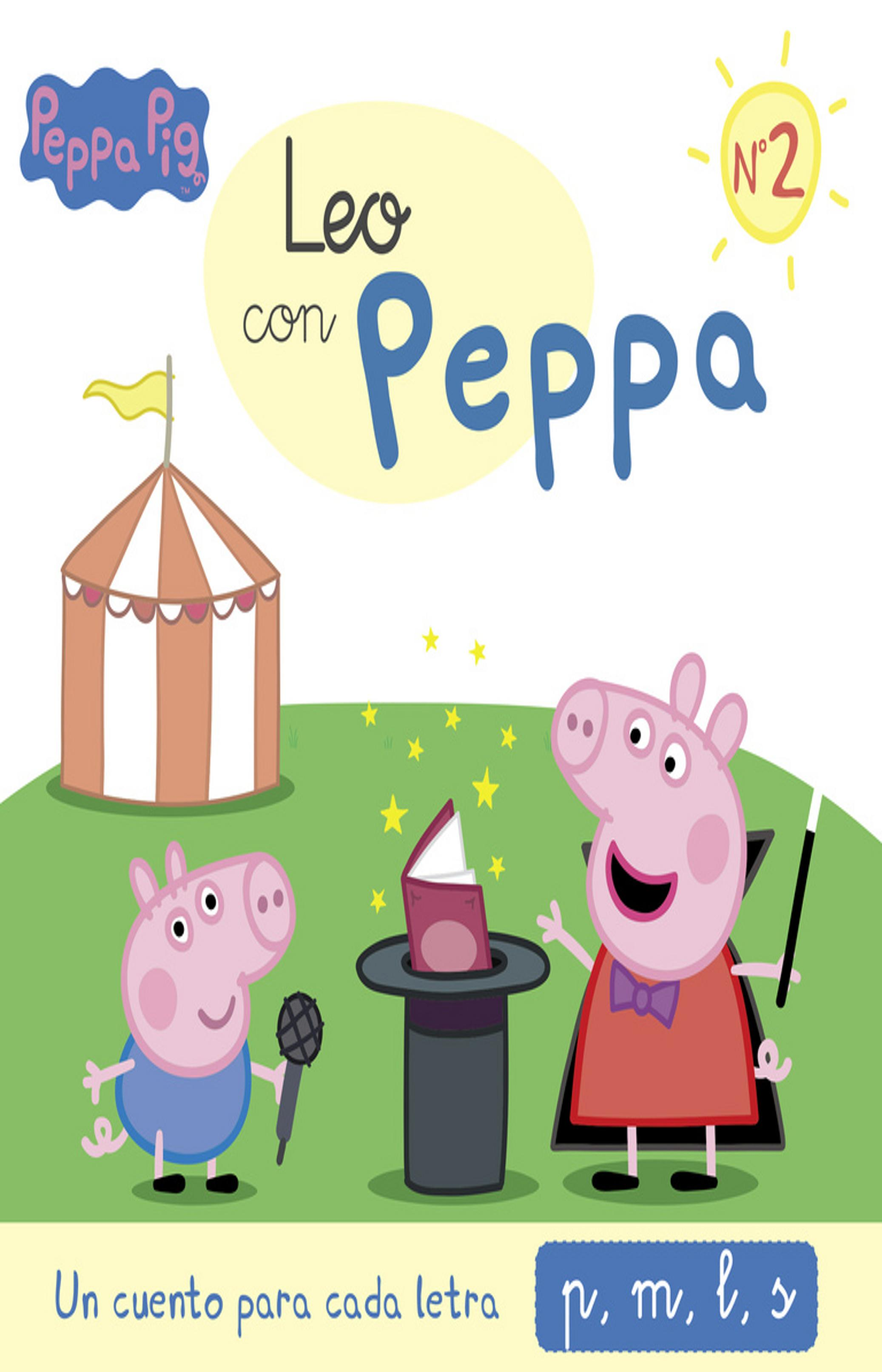 LEO CON PEPPA Nº1 (P,M,L,S) - Peppa Pig