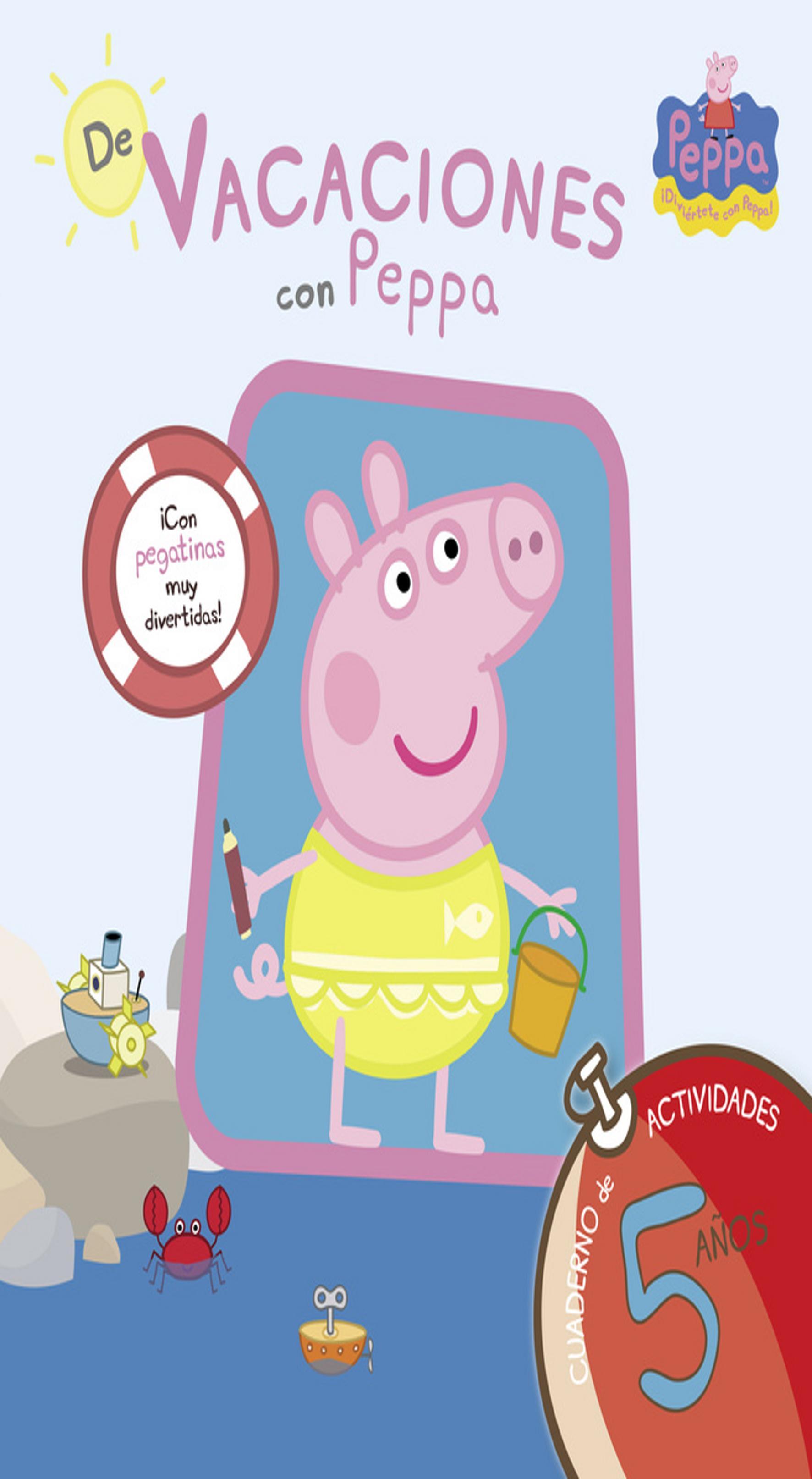 DE VACACIONES CON PEPPA PIG 5 Años