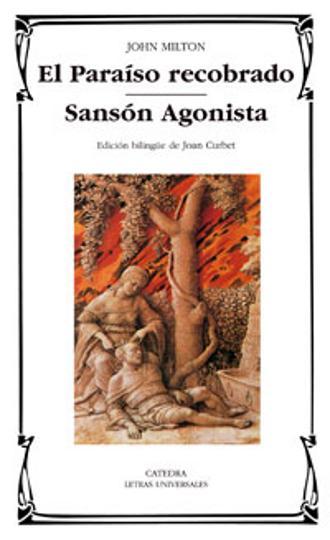PARAISO RECOBRADO, EL / SANSÓN AGONISTA - Bilingüe Inglés - Español