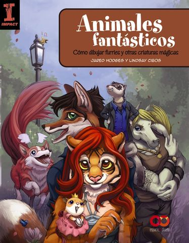 ANIMALES FANTASTICOS: COMO DIBUJAR FURRIES Y OTRAS