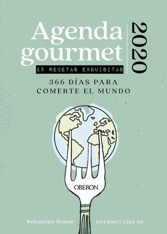 AGENDA GOURMET CON 25 RECETAS EXQUISITAS