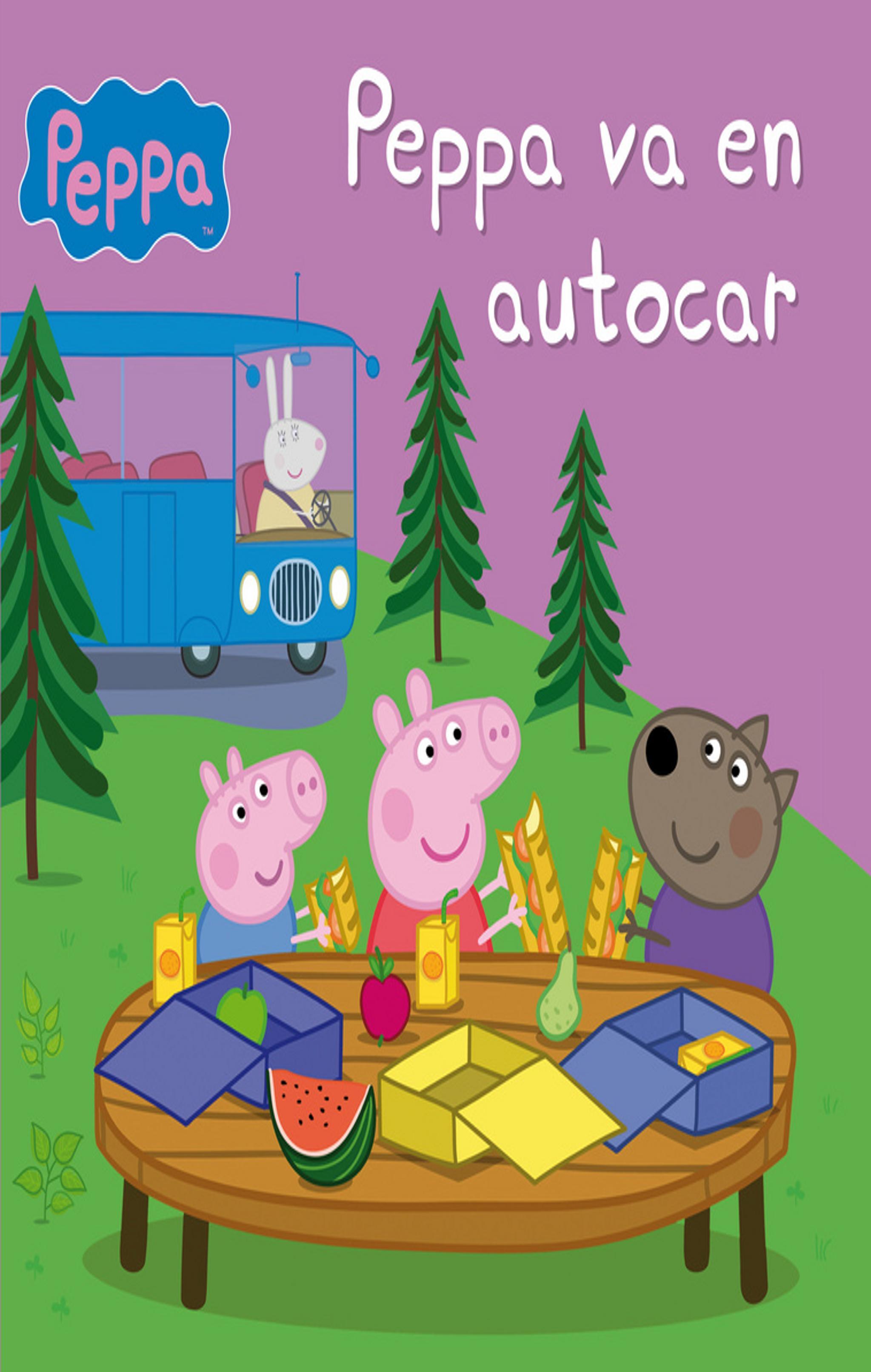 PEPPA VA EN AUTOCAR - Peppa Pig