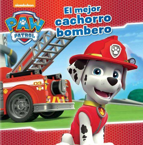 PATRULLA CANINA mejor cachorro bombero