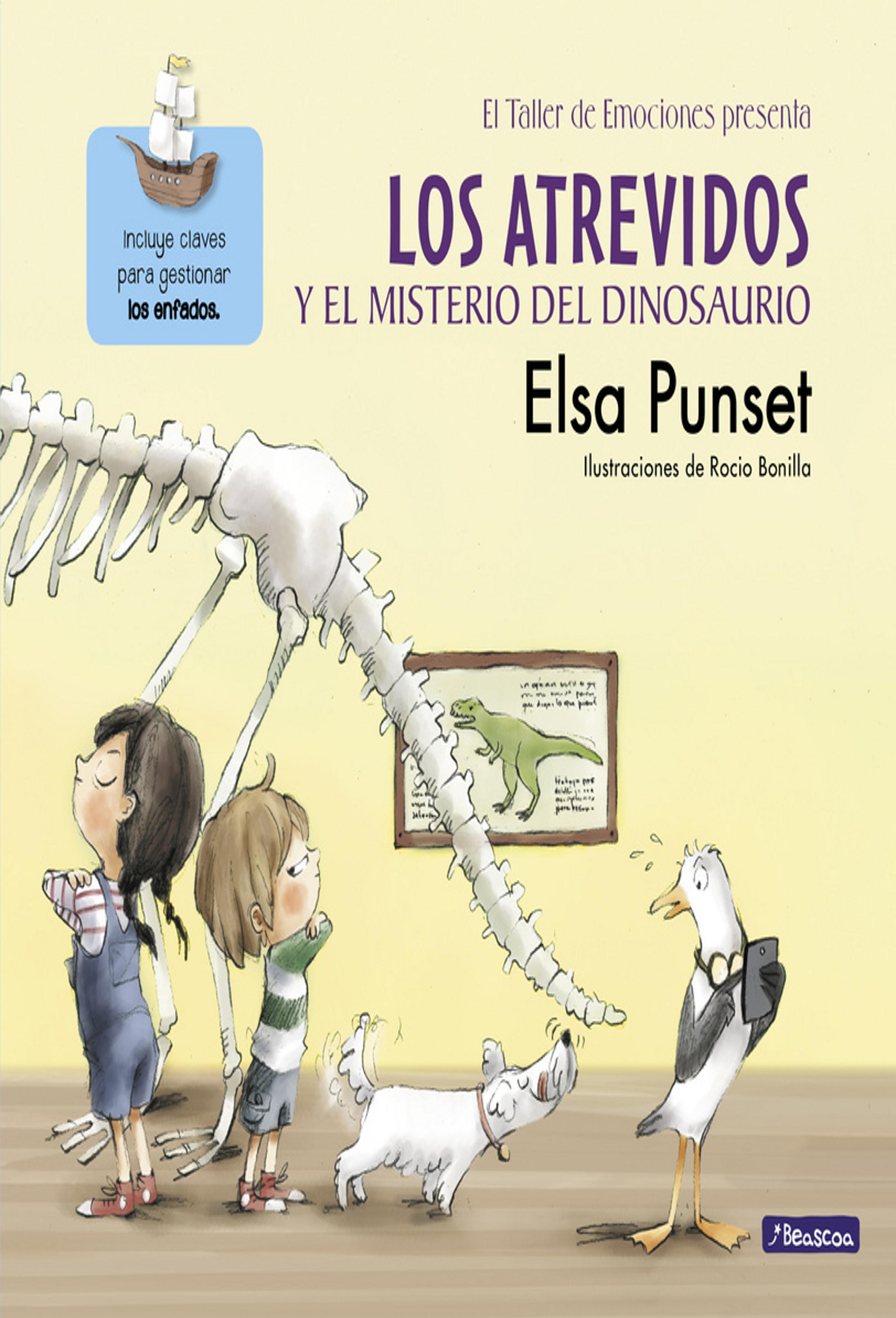 ATREVIDOS Y EL MISTERIO DEL DINOSAURIO, LOS