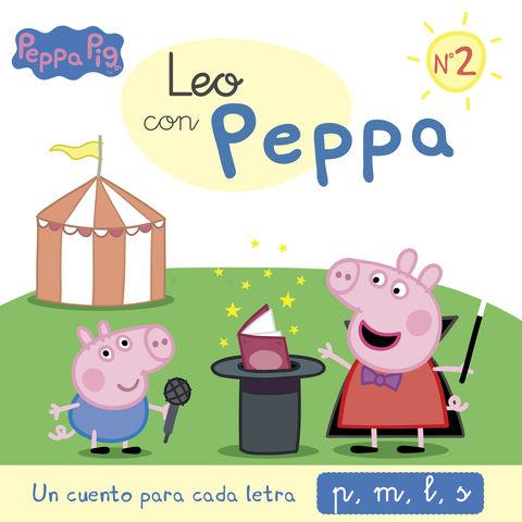 LEO CON PEPPA nº2 un cuento para cada letra p,m,l, s
