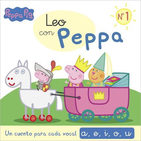LEO CON PEPPA PIG nº1 un cuento para cada vocal a,e,i,o,u