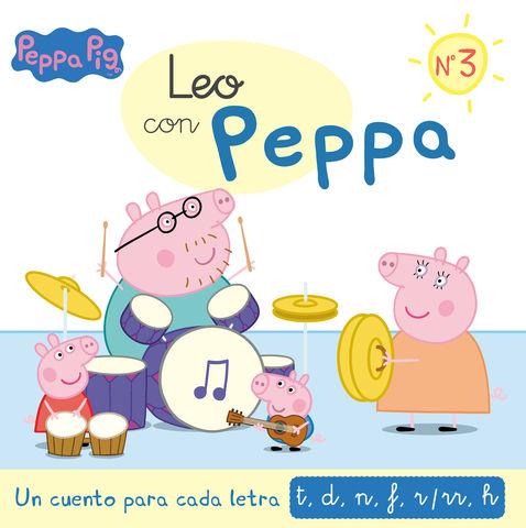 LEO CON PEPPA PIG nº3 un cuento para cada letra t, d,n,f,r,rr, h