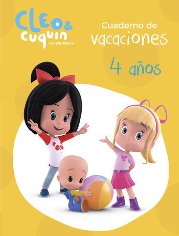 CUADERNO VACACIONES CLEO Y CUQUIN 4 AÑOS (CLEO Y C
