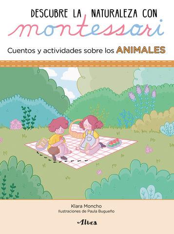 ANIMALES.DESCUBRE NATURALEZA MONTESSORI