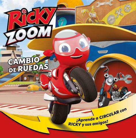 RICKY ZOOM nº3 cambios de ruedas