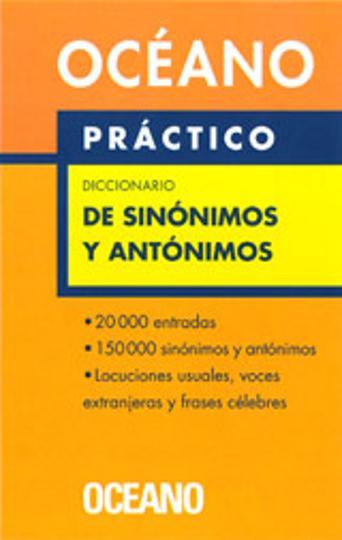 DICC PRÁCTICO DE SINÓNIMOS Y ANTÓNIMOS