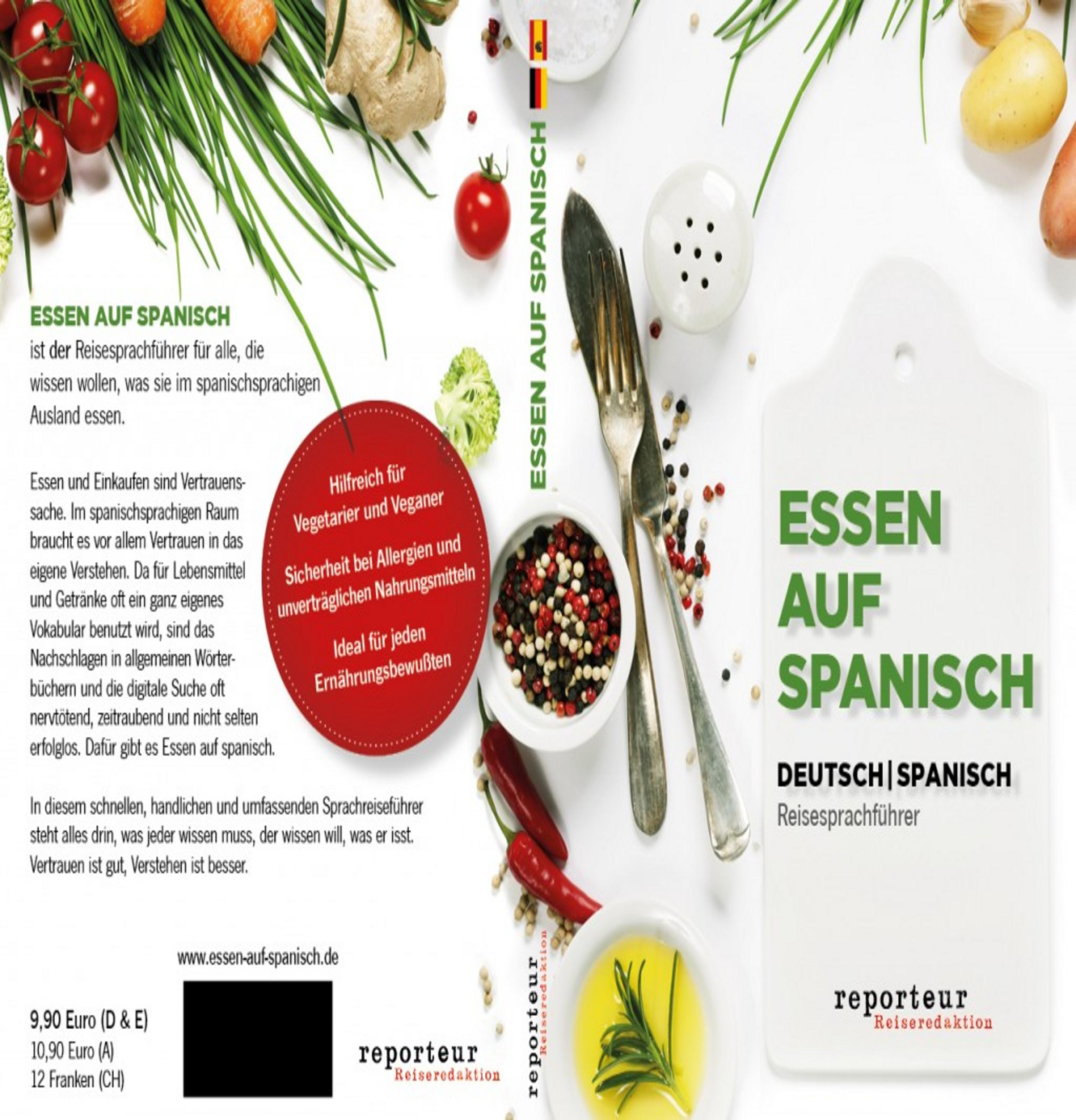 ESSEN AUF SPANISCH Deutsch / Spanisch Reisesprachführer