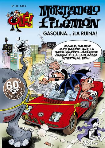 GASOLINA LA RUINA OLE MORTADELO 183