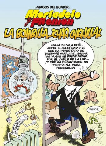 BOMBILLA CHAO MAGOS HUMOR MORTADELO 149.