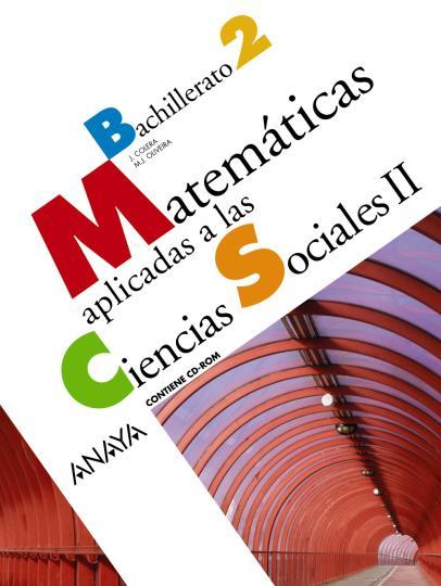 MATEMÁTICAS 2 BACH aplicadas Ciencias Sociales II