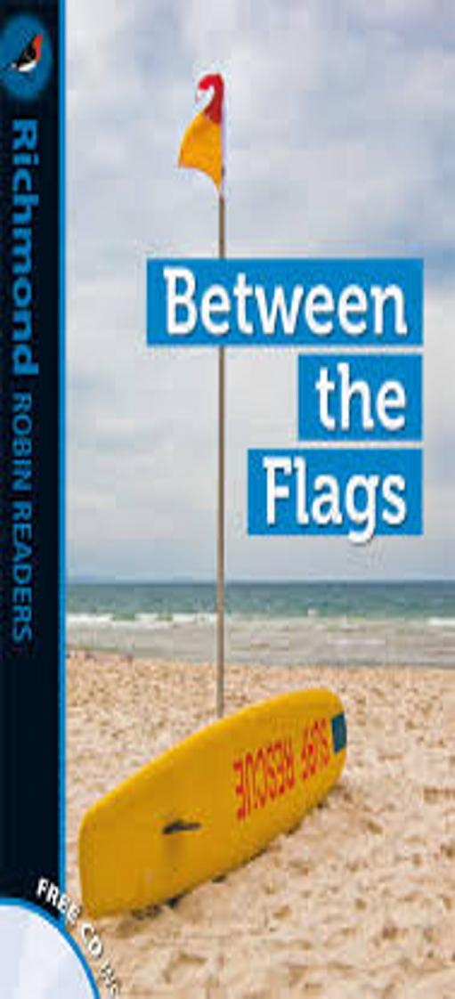 BETWEEN THE FLAGS + CD - Richmond Robin Readers 2