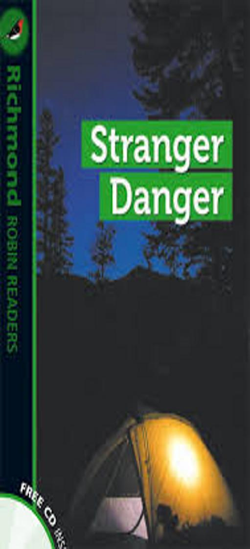 STRANGER DANGER + CD - Richmond Robin Readers 3