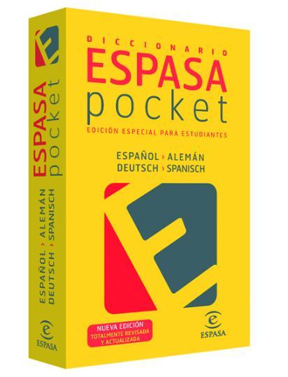 DICC Espasa POCKET Alemán - Esp / Esp - Alemán