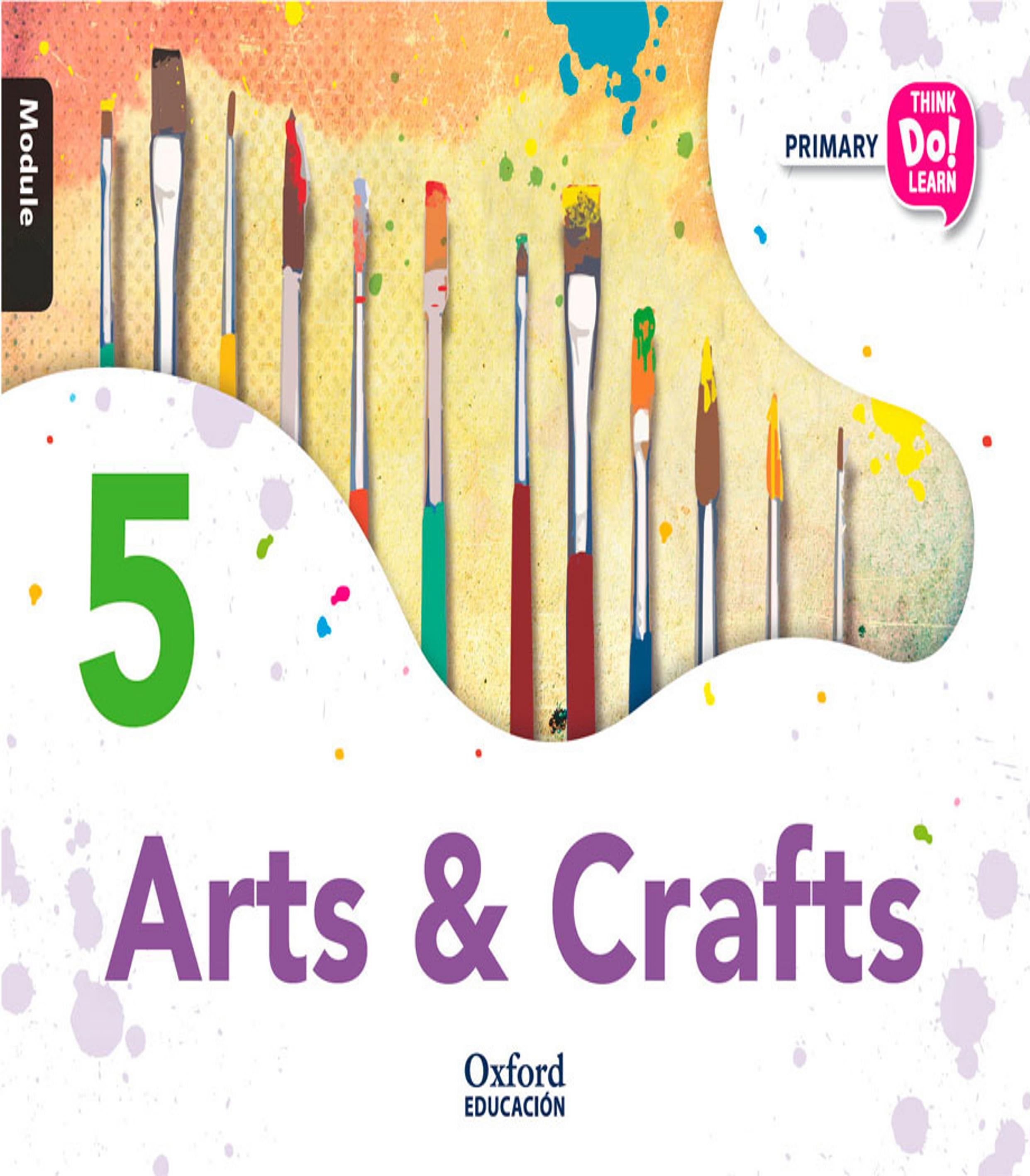ARTS AND CRAFTS 5 Think Do Learn Pack with CD