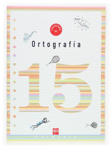 CUADERNO DE ORTOGRAFIA 15