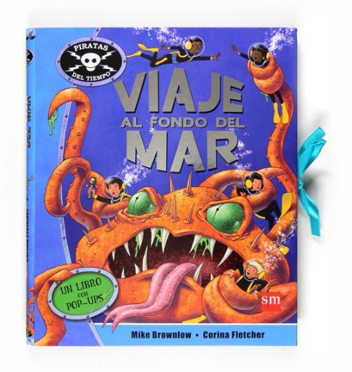VIAJE AL FONDO DEL MAR libro de pop-up