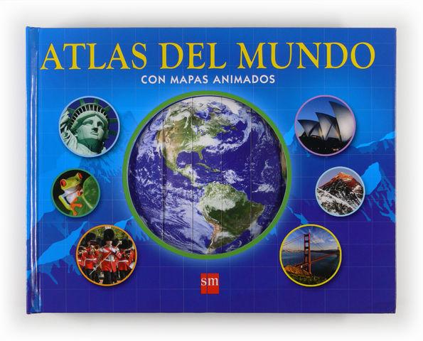 AT.ATLAS DEL MUNDO CON MAPAS ANIMADOS