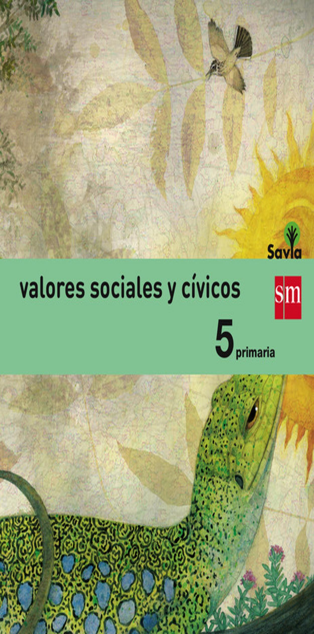 VALORES SOCIALES Y CIVICOS 5º prim