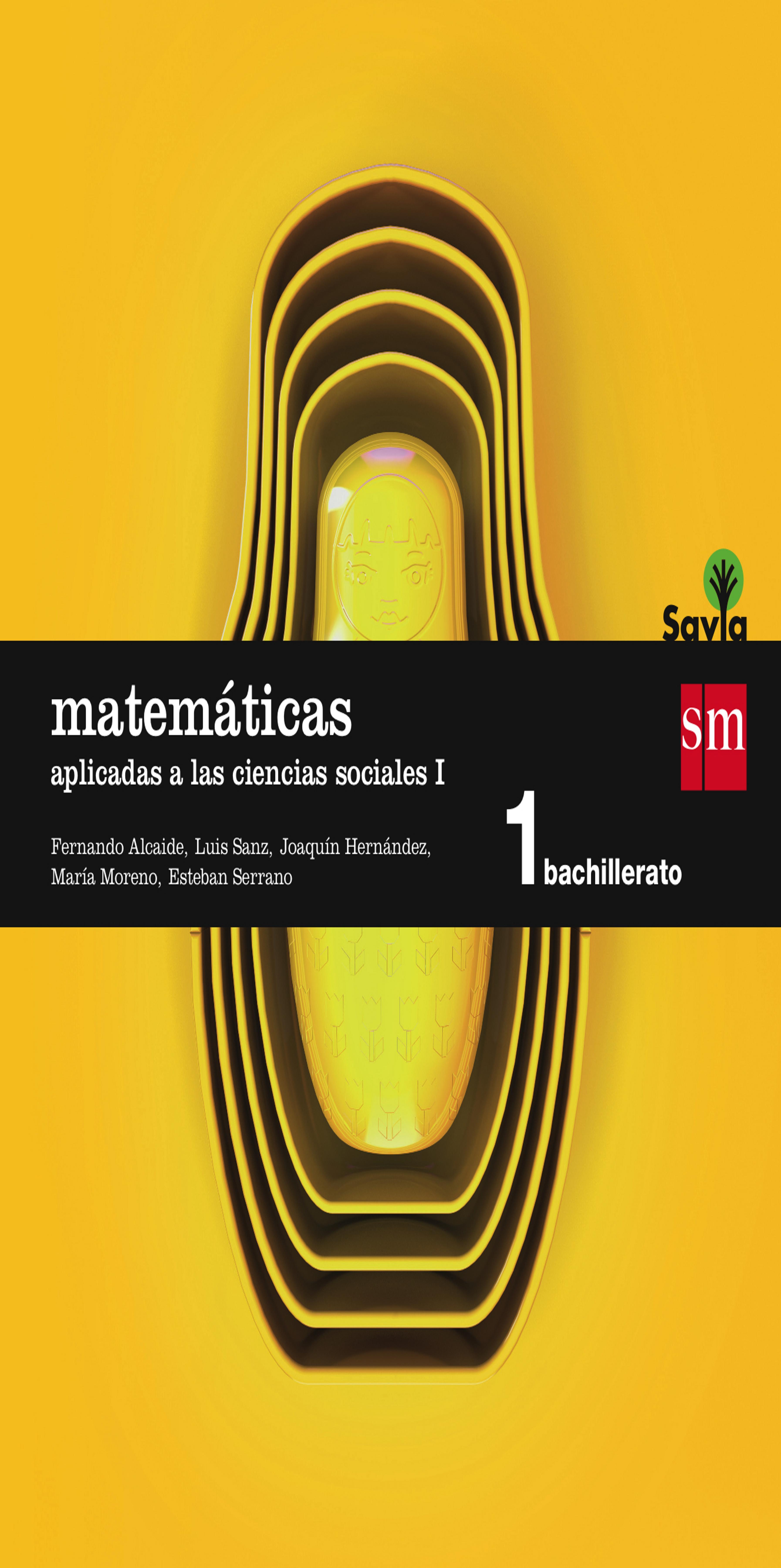 MATEMATICAS APLICADAS A LAS CIENCIAS SOCIALES II 1º BACH - Savia
