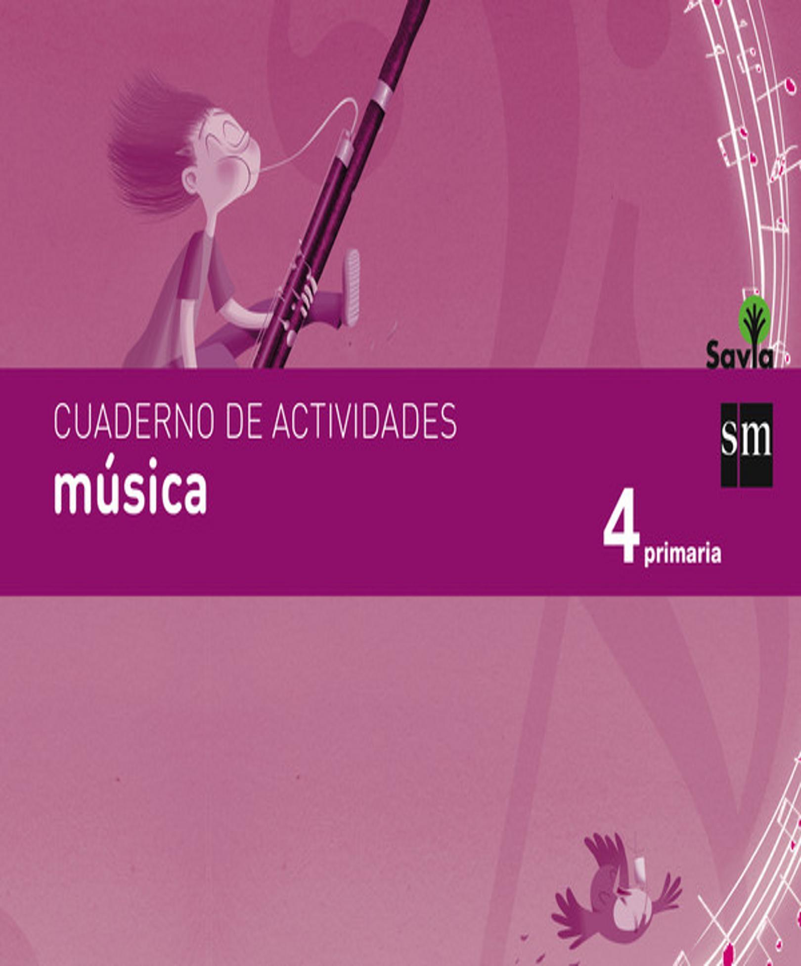 CUAD MUSICA 4º PRIM - Proyecto Savia Integrado