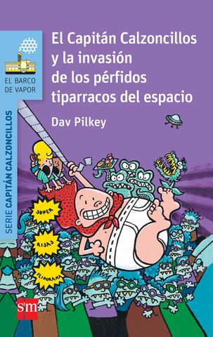 CAPITAN CALZONCILLOS INVASION PERFIDOS TIPARRACOS