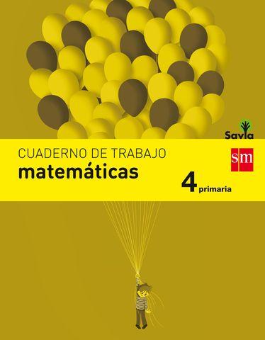 CUAD MATEMATICAS 4º PRIM - Proyecto Savia