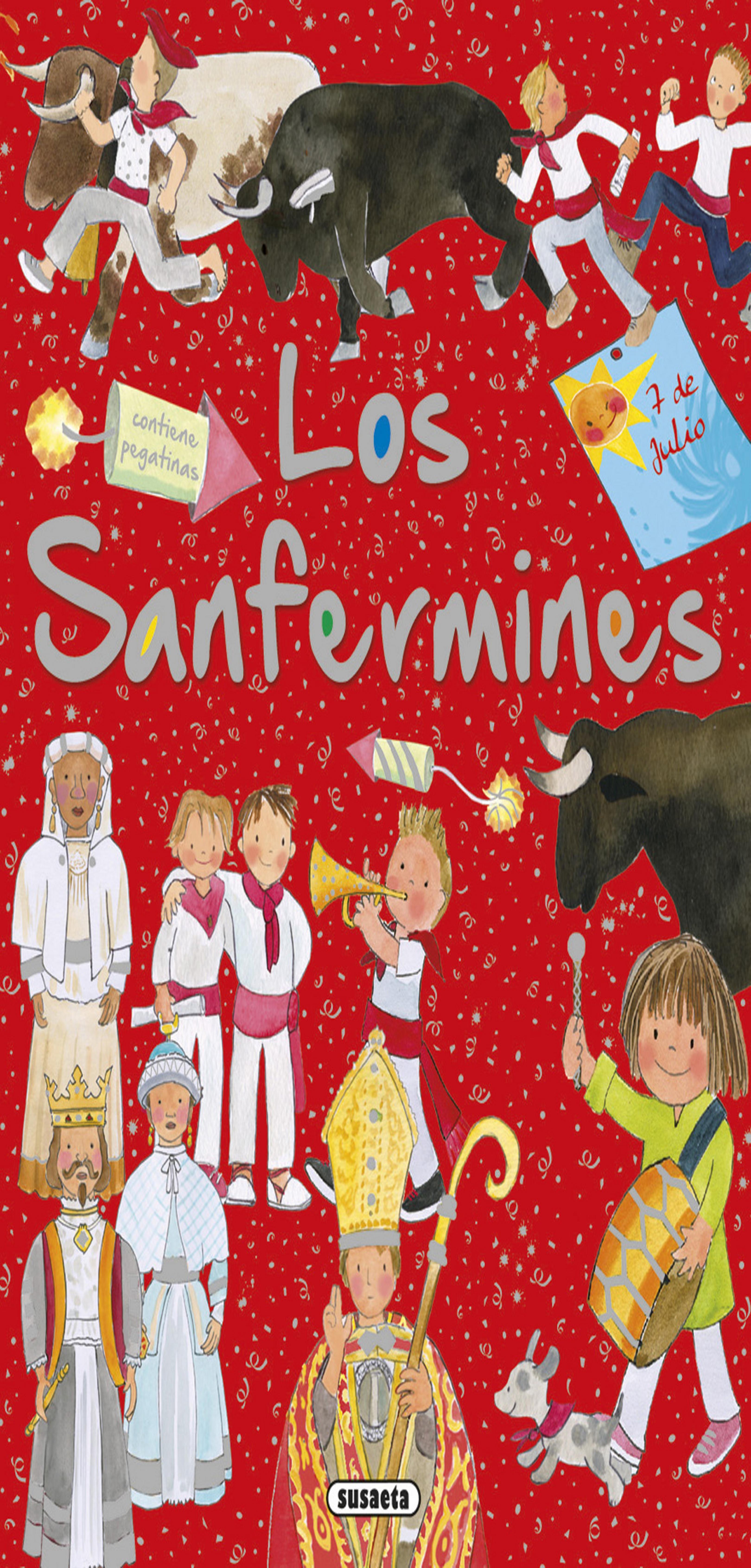 SANFERMINES CON PEGATINAS