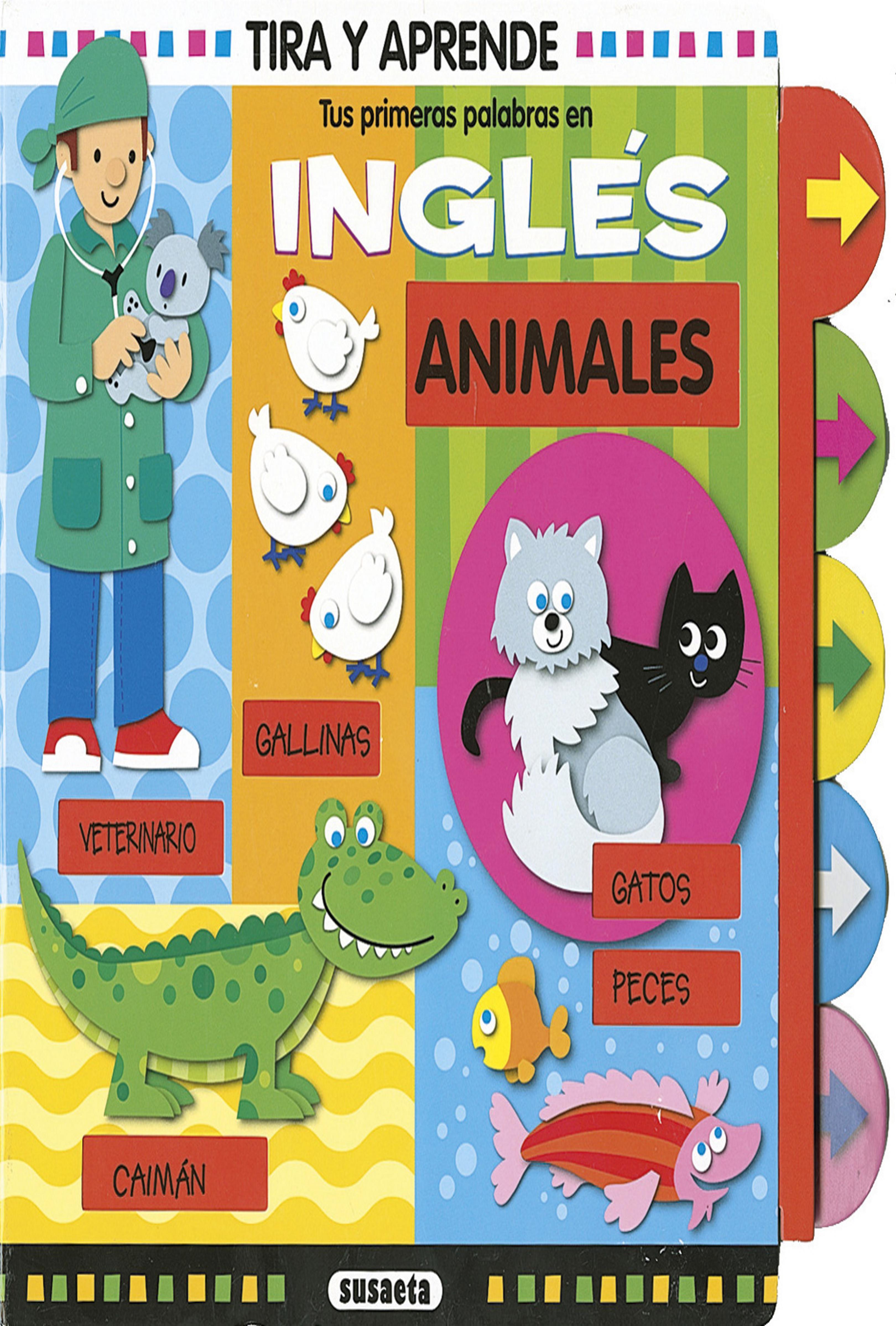 ANIMALES - Tus Primeras Palabras en Inglés( ingles-español)