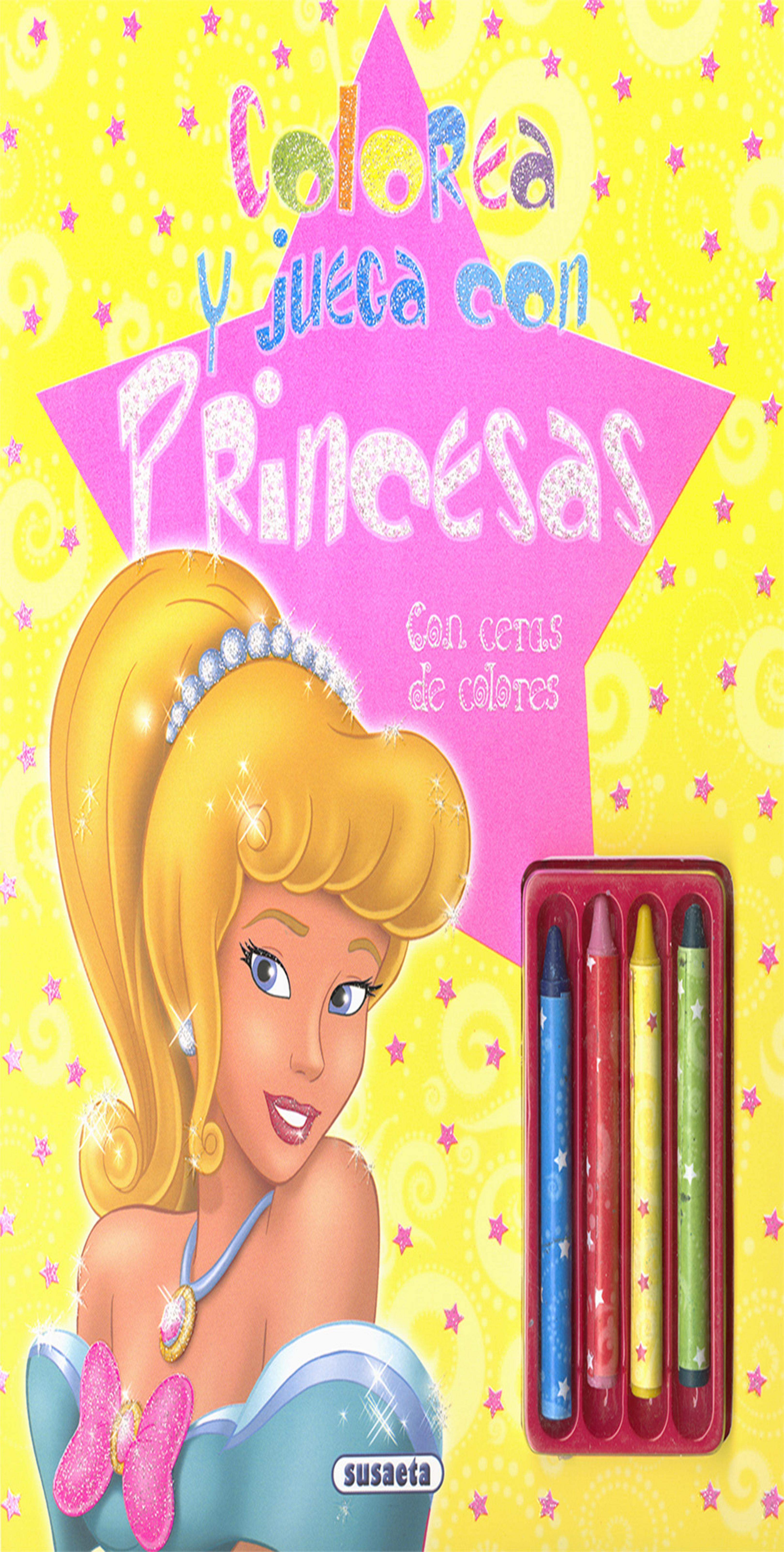 CERAS - Colorea y Juega con Princesas