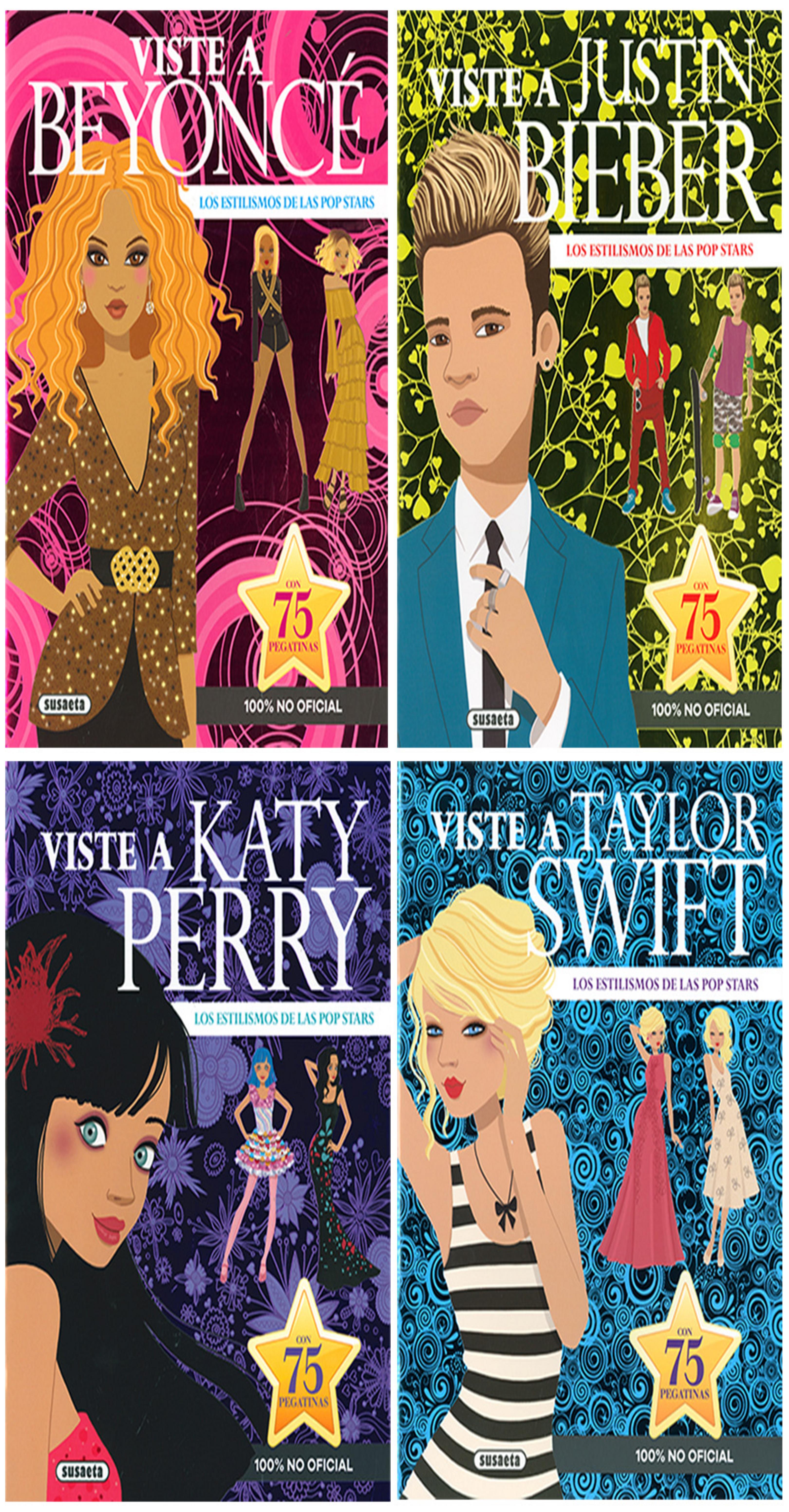POP STARS 4 Títulos