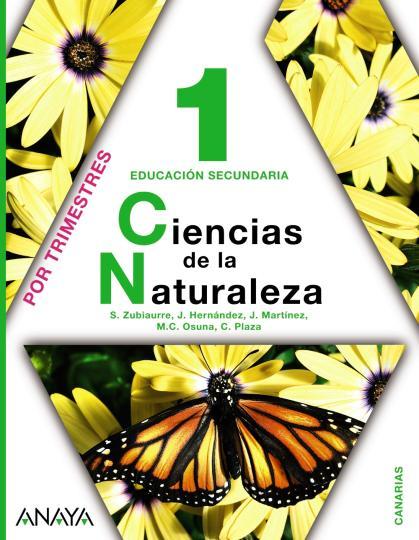 CIENCIAS DE LA NATURALEZA 1º ESO Canarias - Por Trimestres