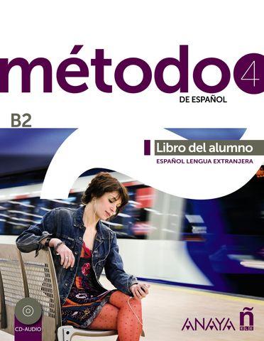 METODO ESPAÑOL B2  Alumno + CD