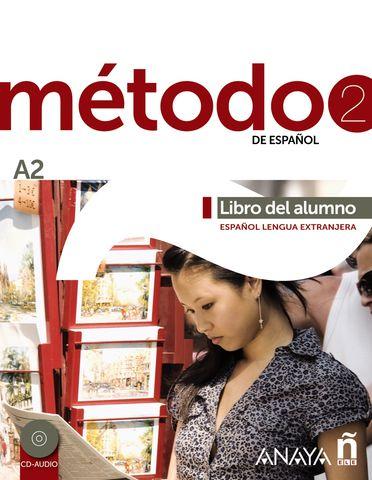 METODO ESPAÑOL A2  Alumno + CD