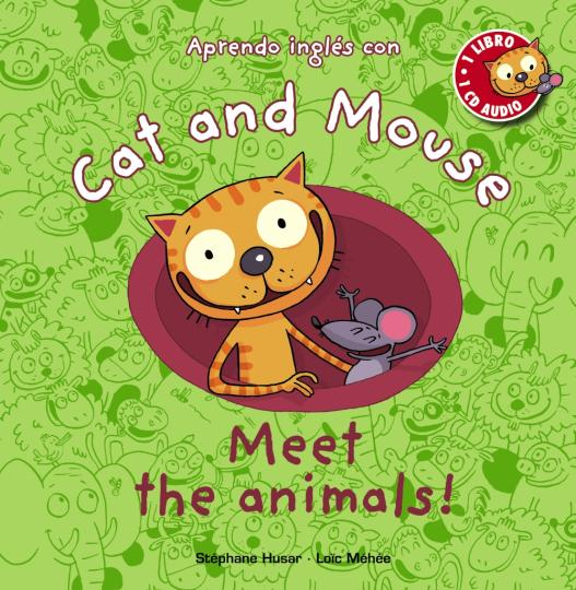 MEET THE ANIMALS + CD - Cat and Mouse Level 1