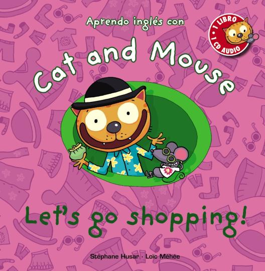 LET ´ S GO SHOPPING + CD - Cat and Mouse Level 2