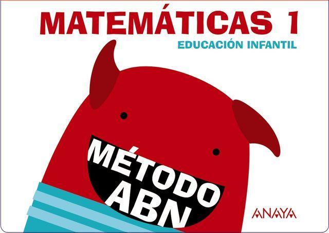 MATEMATICAS ABN 1 Pack Cuadernos 1 y 2