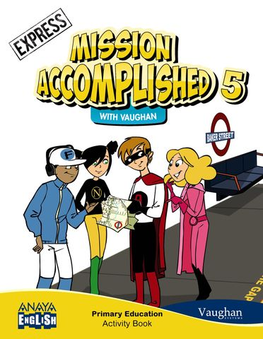 MISSION ACCOMPLISHED 5 EXPRESS 5 WORKBOOK