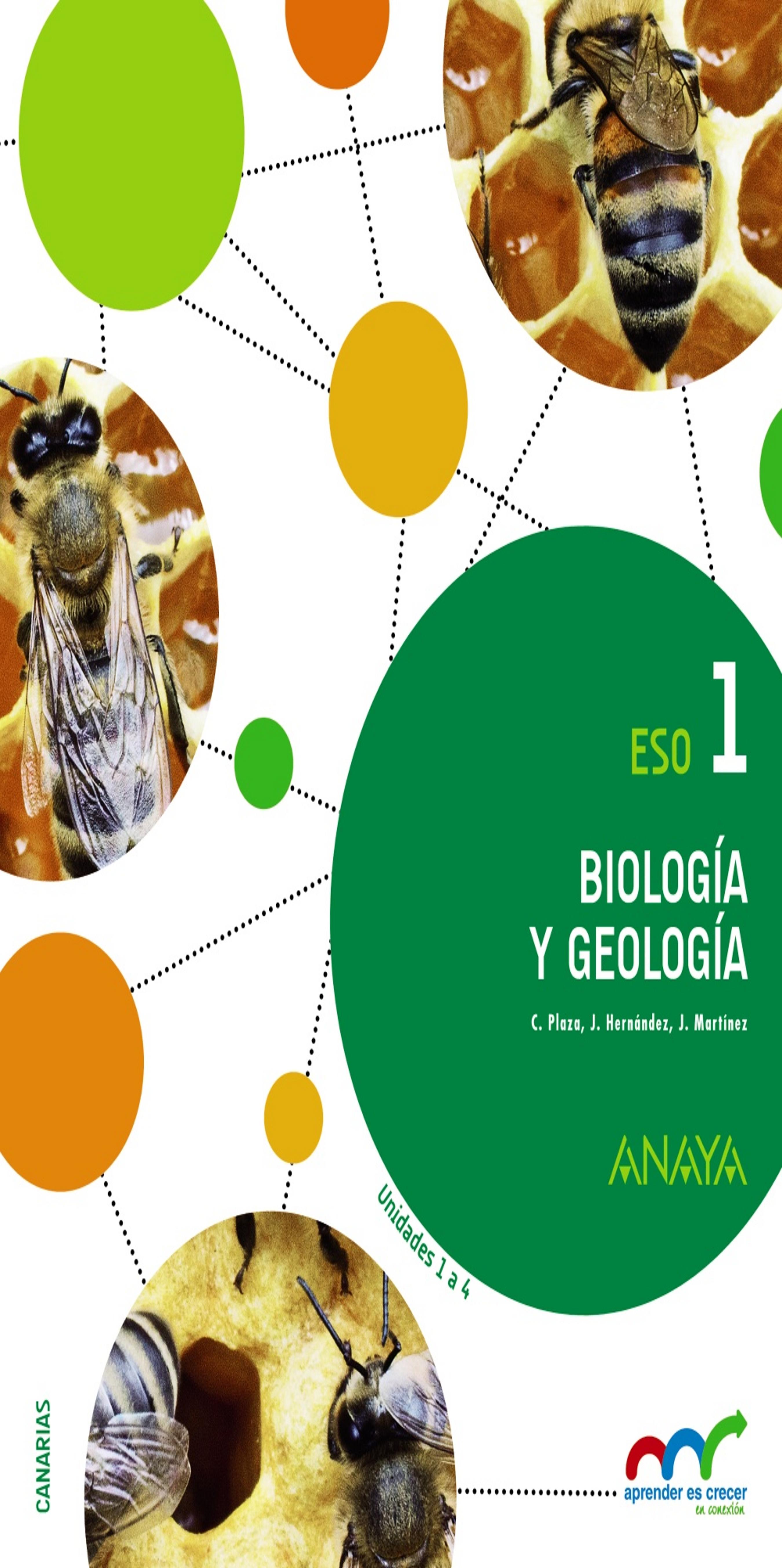 Biología Y Geología 1 Eso Trimestres 2015 Aprender Es Crecer En Cone Librería Idiomatika