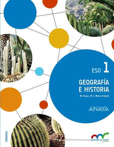 GEOGRAFIA E HISTORIA 1º ESO Canarias - Aprender es Crecer en Conexión