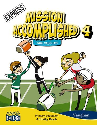MISSION ACCOMPLISHED 4. EXPRESS Activity Book
