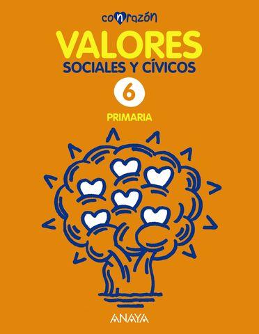 VALORES SOCIALES Y CIVICOS 6º PRIMARIA